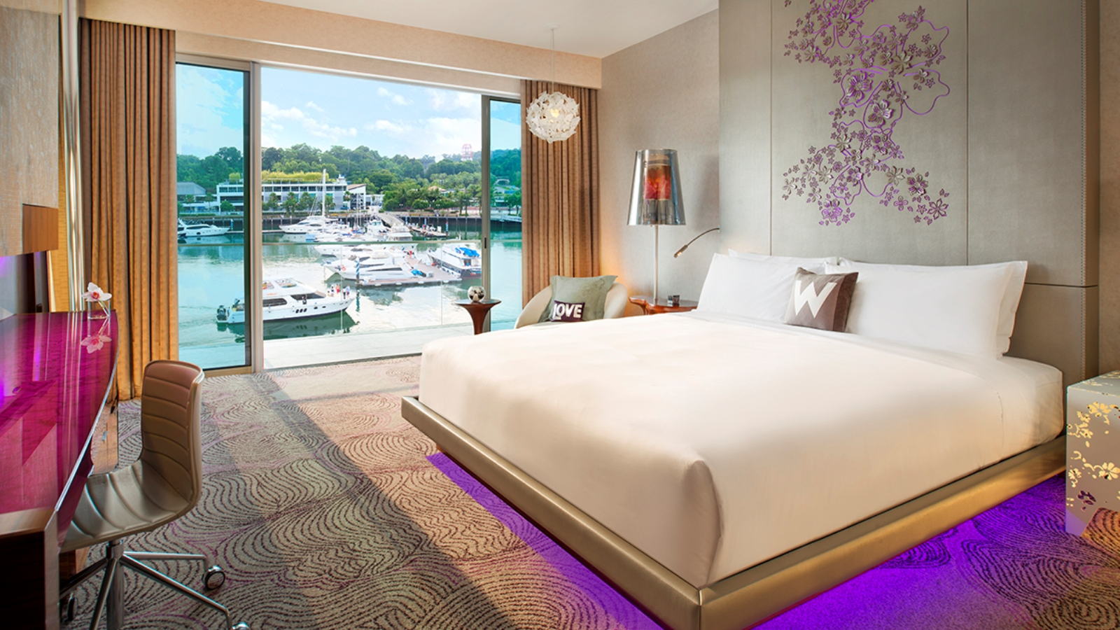 Starwood suites w singapore sentosa cove for W hotel in room dining menu singapore
