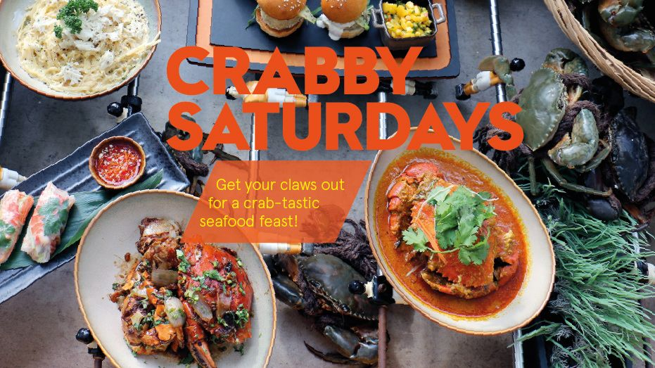 Crabby Saturdays at the kitchen table